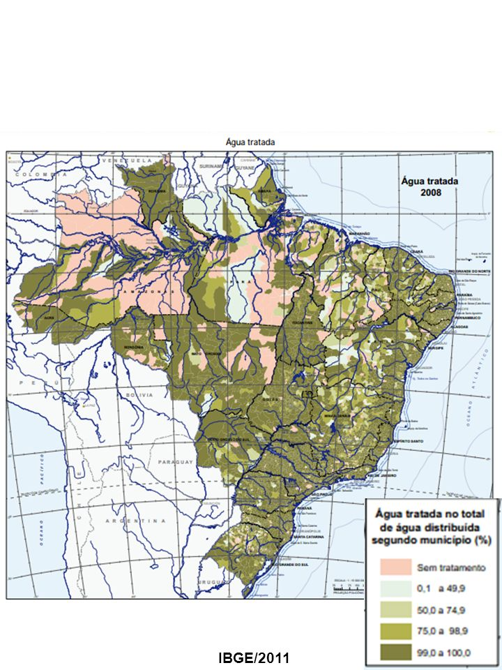 SANEAMENTO BÁSICO IBGE/2011