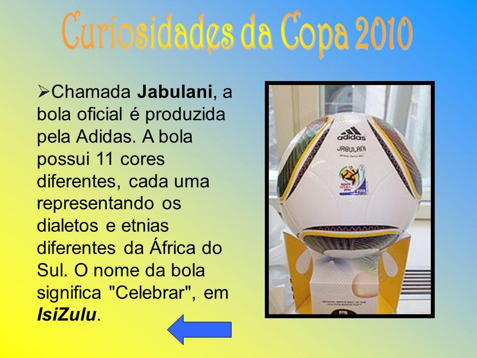 Curiosidades da Copa 2010