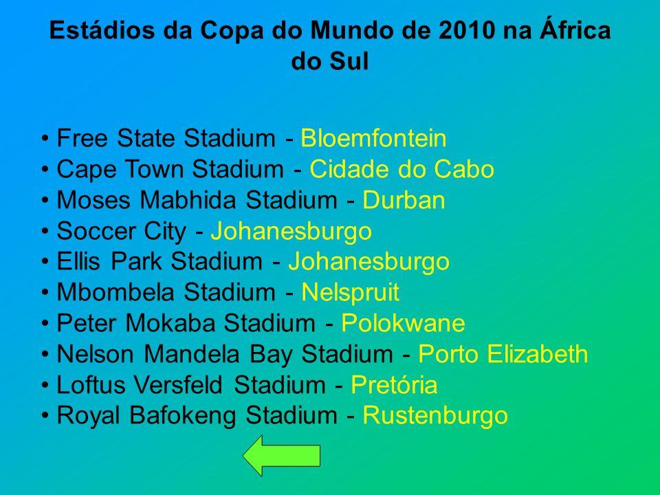 Estádios da Copa do Mundo de 2010 na África do Sul