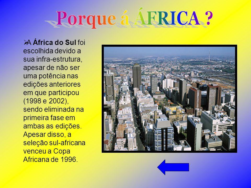 Porque á ÁFRICA