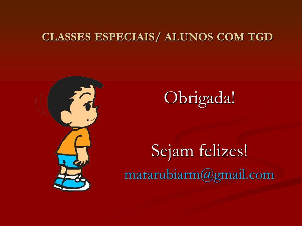CLASSES ESPECIAIS/ ALUNOS COM TGD