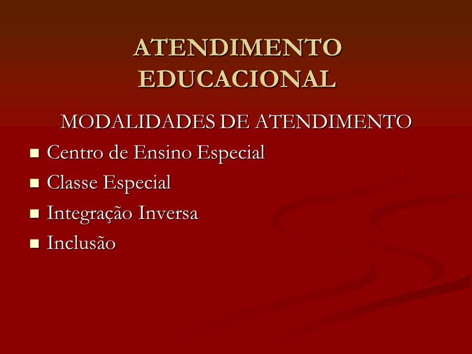ATENDIMENTO EDUCACIONAL