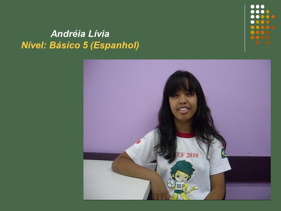 Nível: Básico 5 (Espanhol)