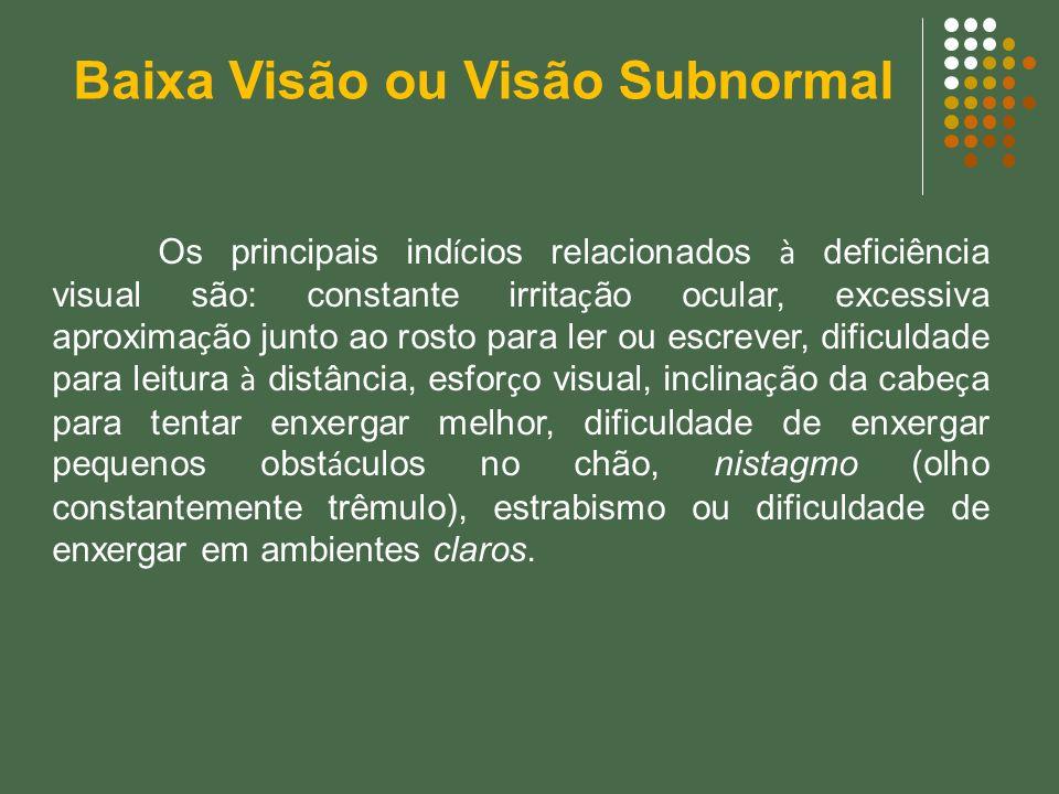 Baixa Visão ou Visão Subnormal