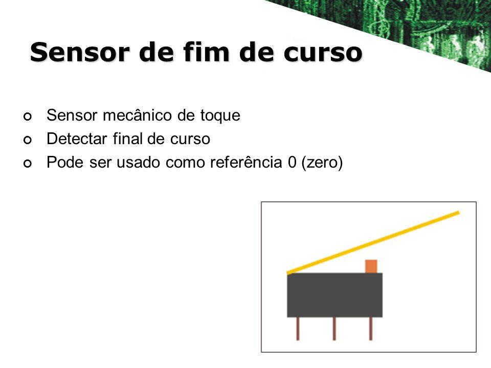 Sensor de fim de curso Sensor mecânico de toque