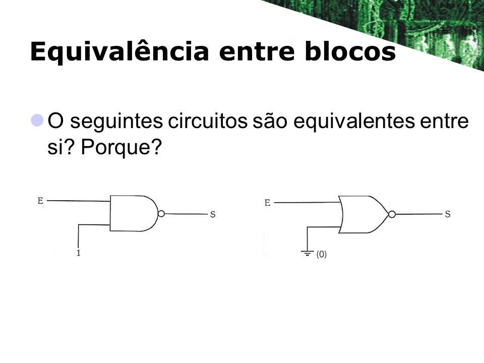 Equivalência entre blocos