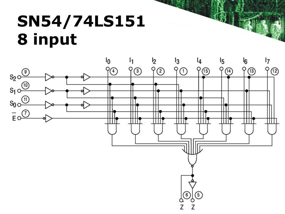 SN54/74LS151 8 input