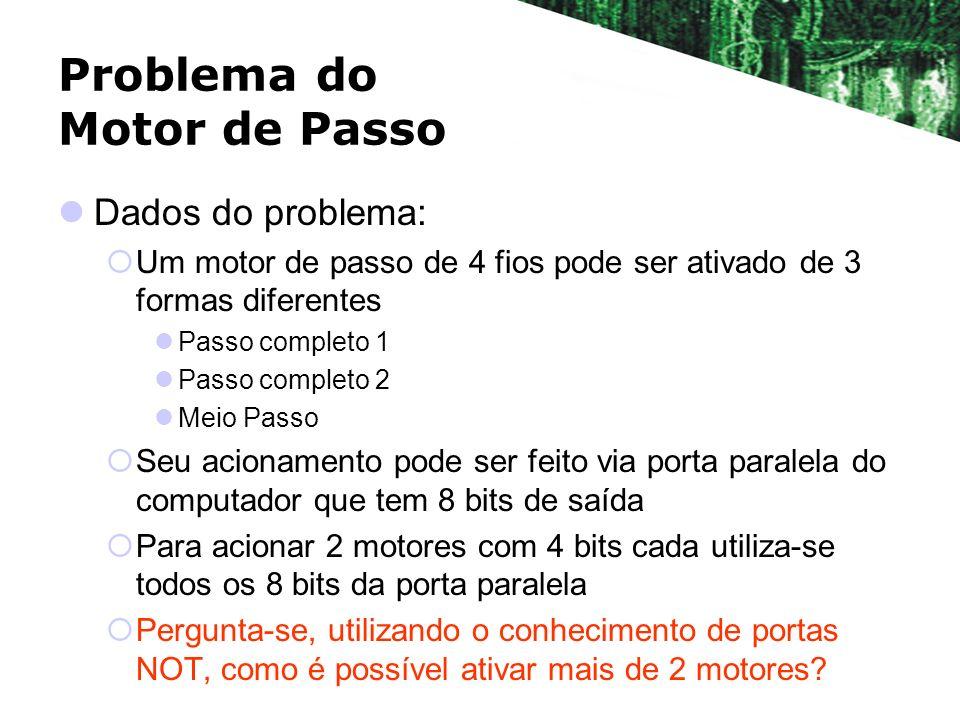 Problema do Motor de Passo