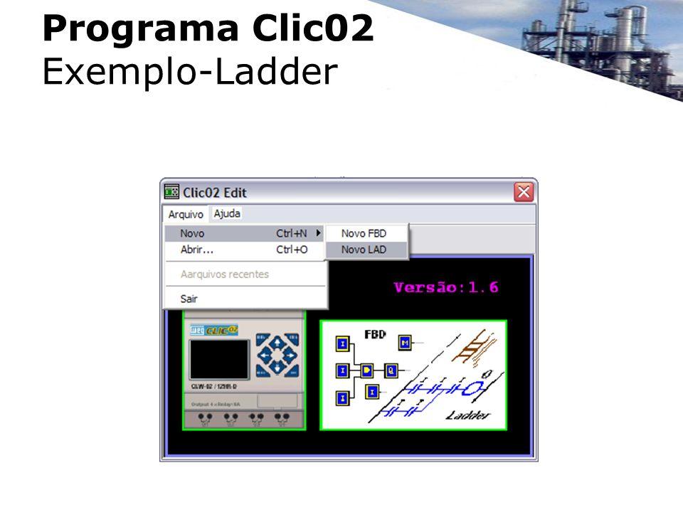 Programa Clic02 Exemplo-Ladder