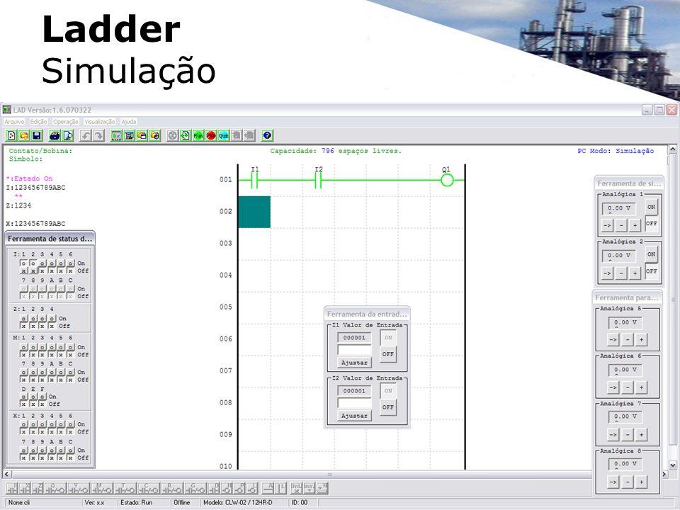 Ladder Simulação