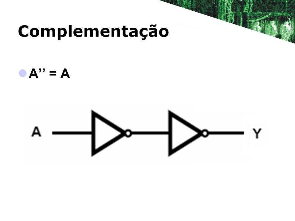 Complementação A'' = A