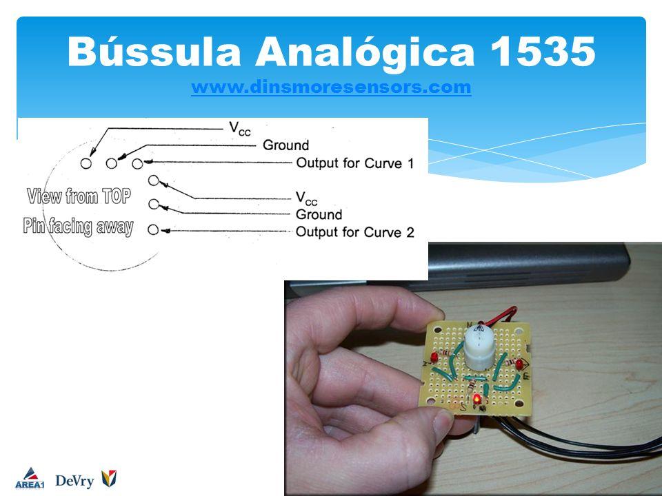 Bússula Analógica 1535 www.dinsmoresensors.com
