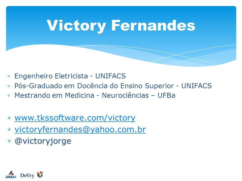 Victory Fernandes www.tkssoftware.com/victory
