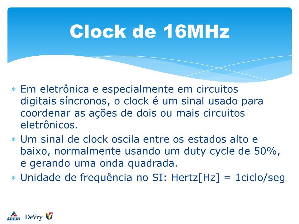 Clock de 16MHz