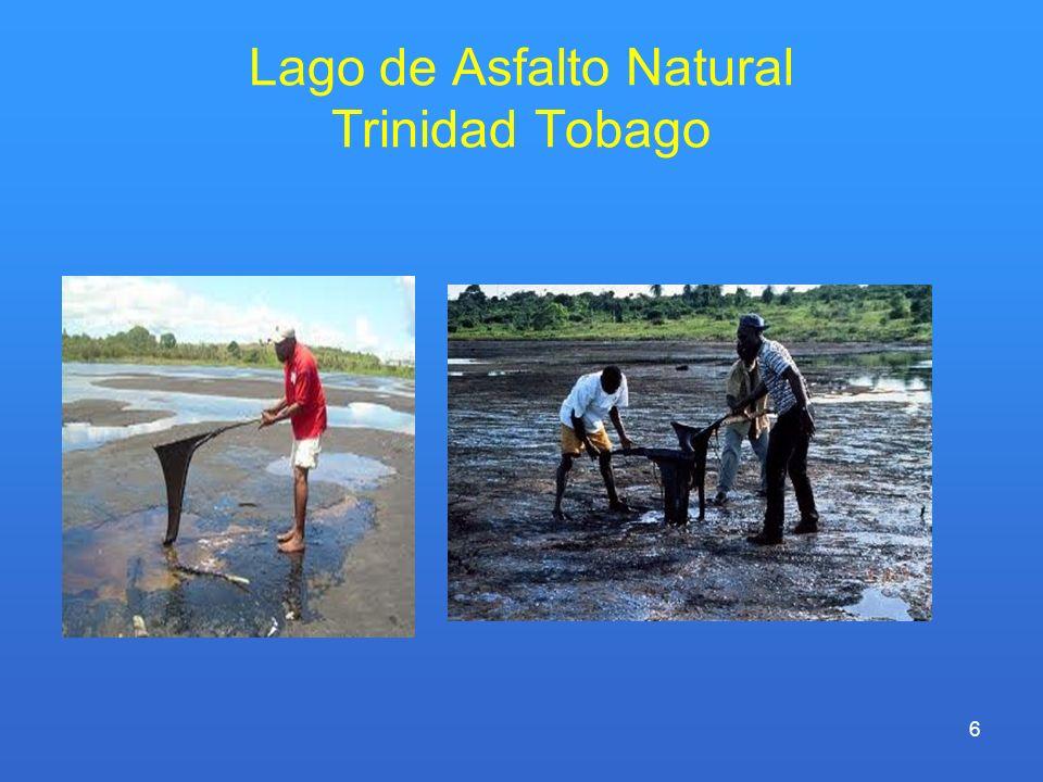 Lago de Asfalto Natural Trinidad Tobago