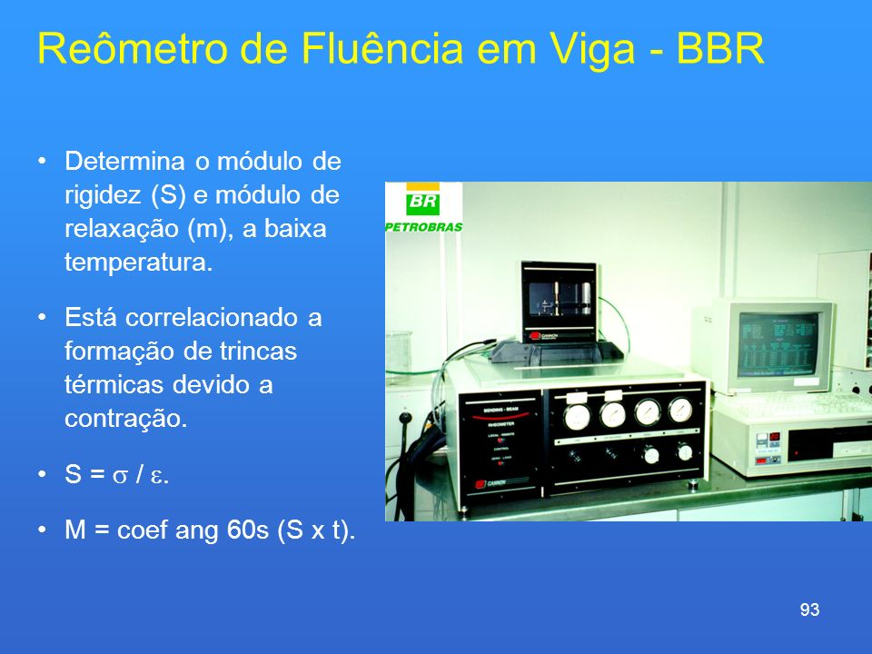 Reômetro de Fluência em Viga - BBR