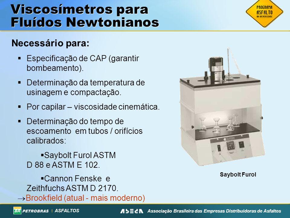 Viscosímetros para Fluídos Newtonianos