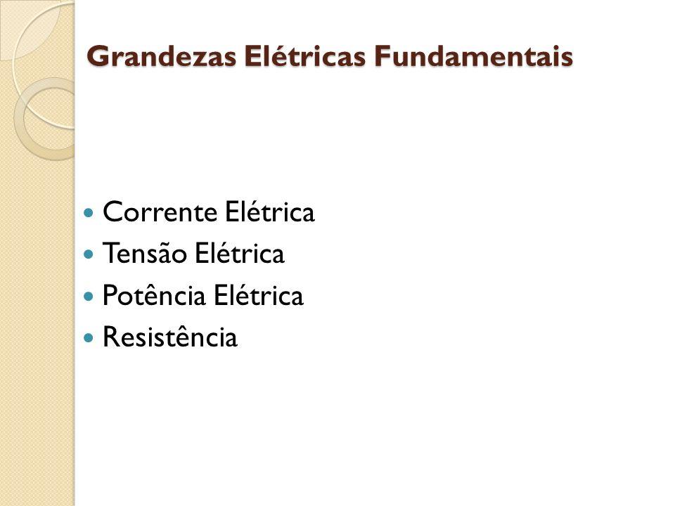 Grandezas Elétricas Fundamentais