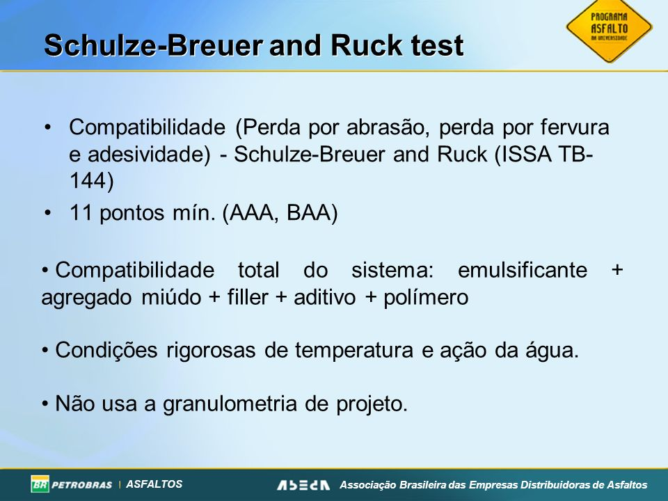 Schulze-Breuer and Ruck test