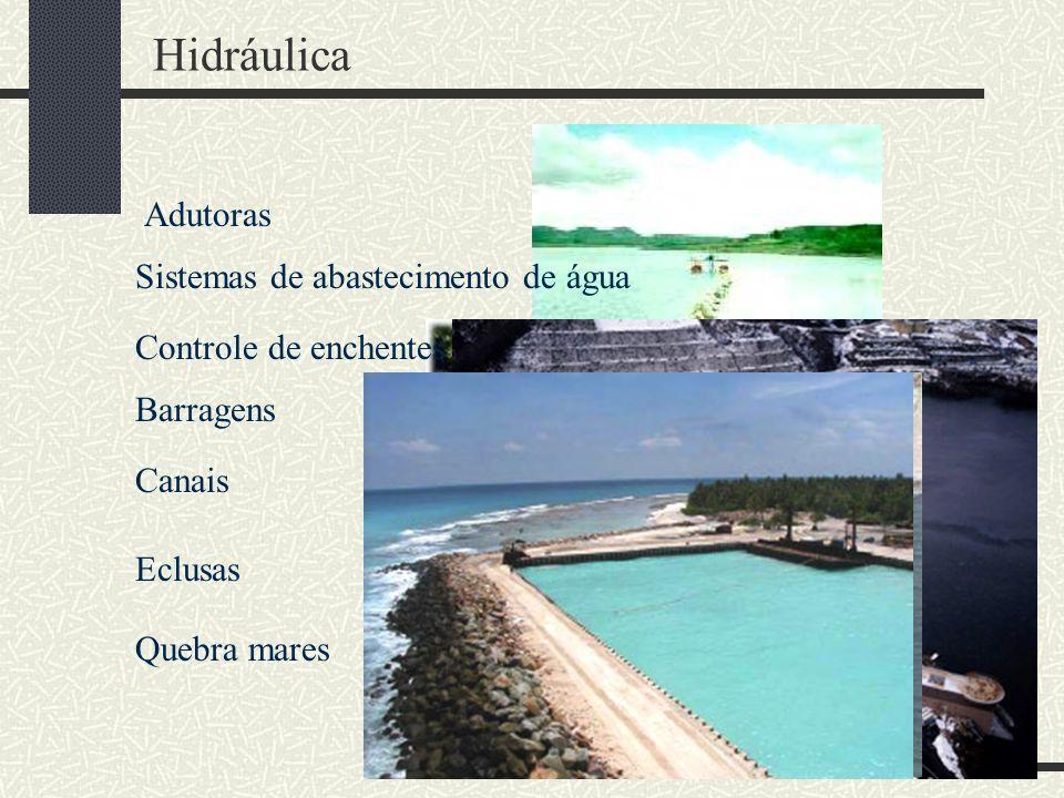 Hidráulica Adutoras Sistemas de abastecimento de água