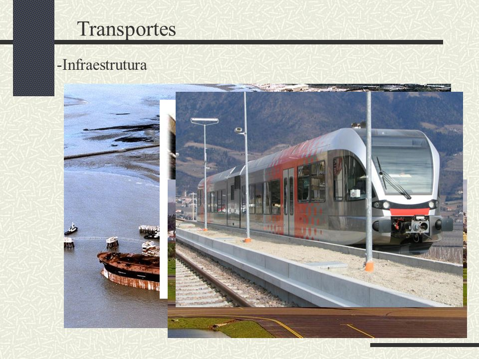 Transportes Infraestrutura Rodoviário Ferroviário Fluvial Marítimo