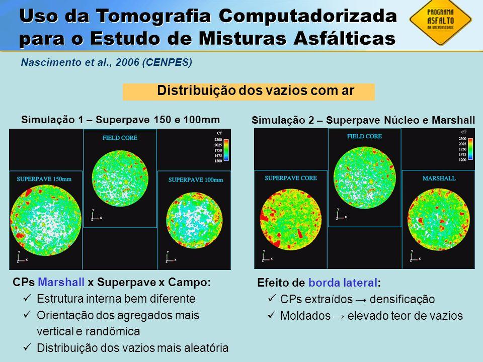 Uso da Tomografia Computadorizada para o Estudo de Misturas Asfálticas