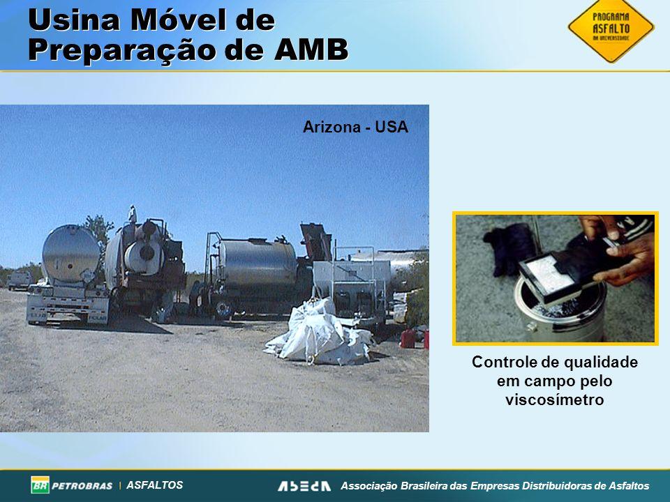 Usina Móvel de Preparação de AMB