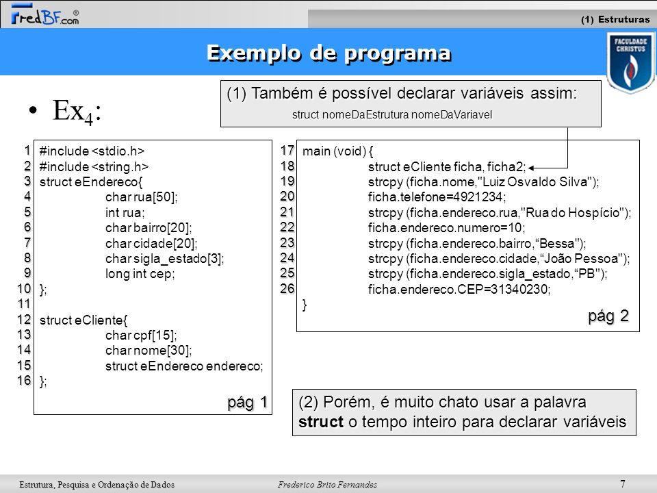 Ex4: Exemplo de programa