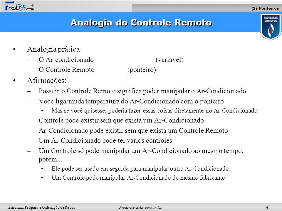 Analogia do Controle Remoto