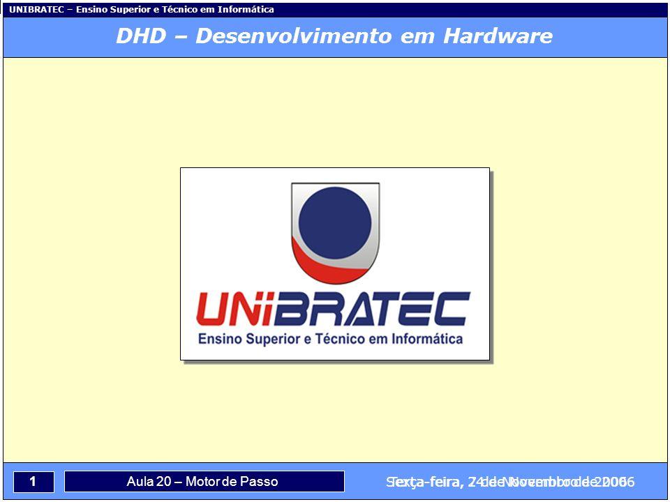DHD – Desenvolvimento em Hardware