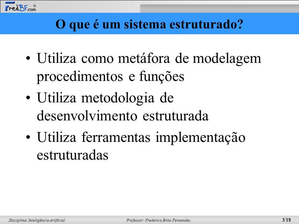 O que é um sistema estruturado