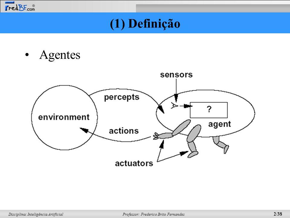 (1) Definição Agentes