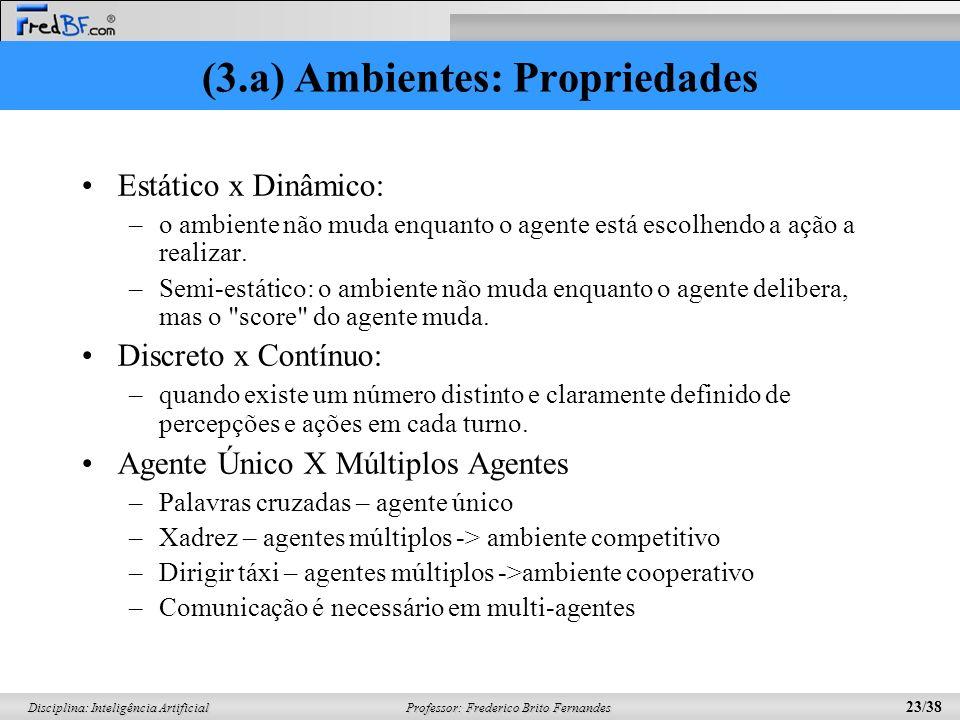 (3.a) Ambientes: Propriedades