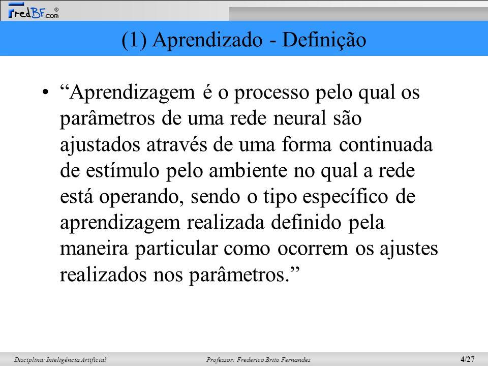 (1) Aprendizado - Definição