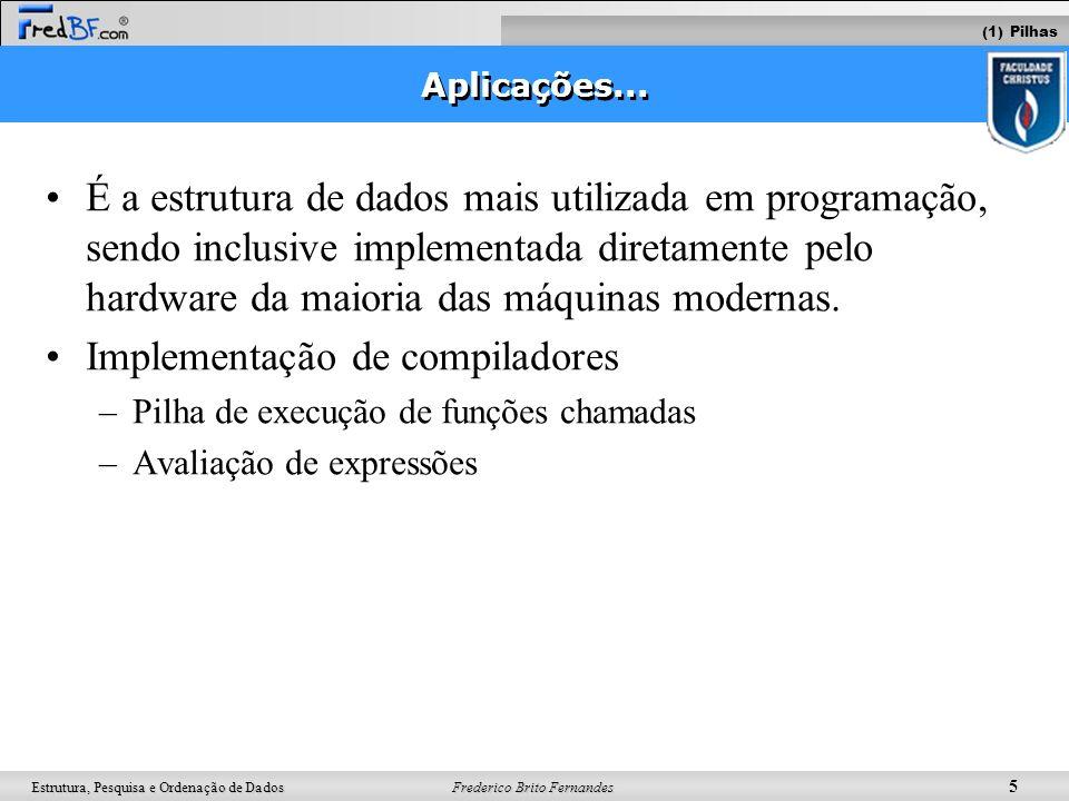 Implementação de compiladores
