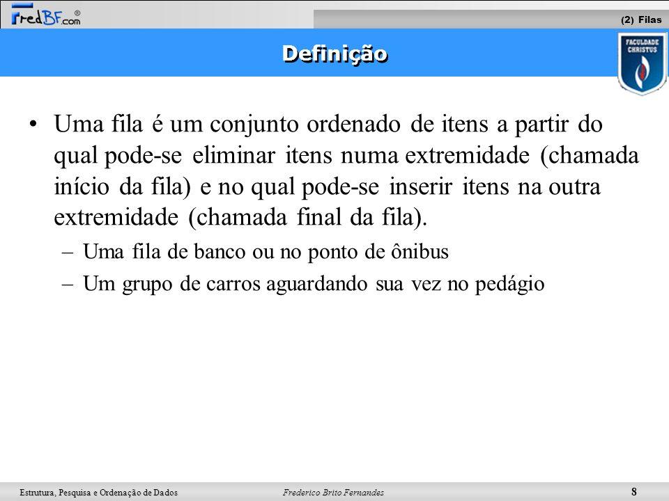 (2) Filas Definição.