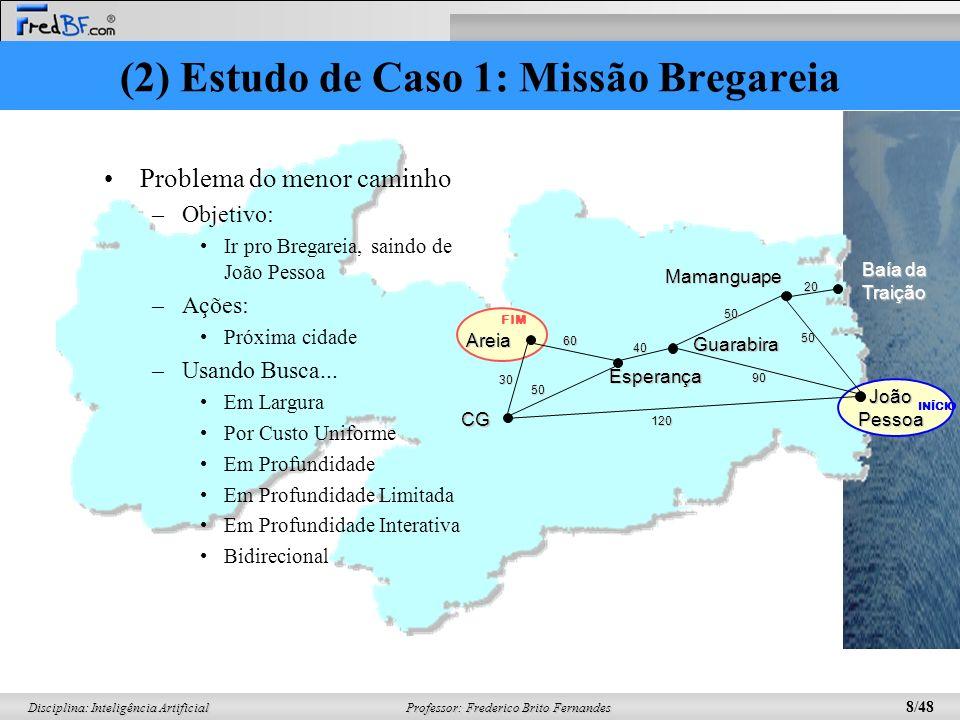 (2) Estudo de Caso 1: Missão Bregareia