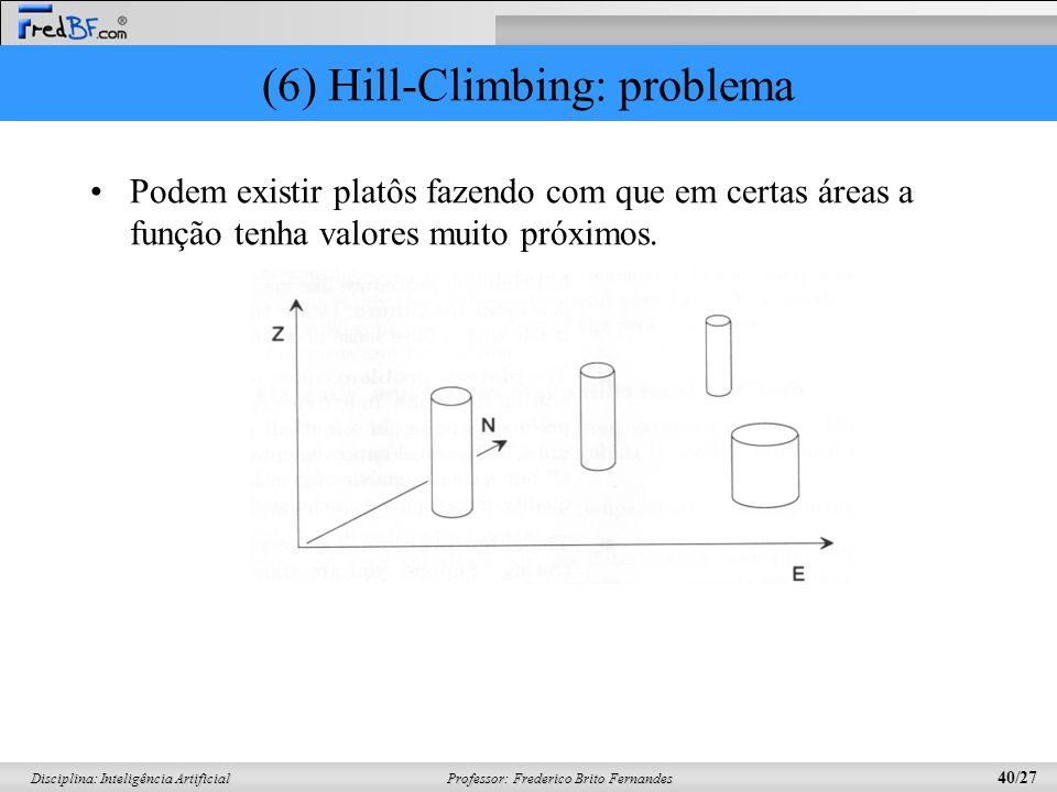 (6) Hill-Climbing: problema