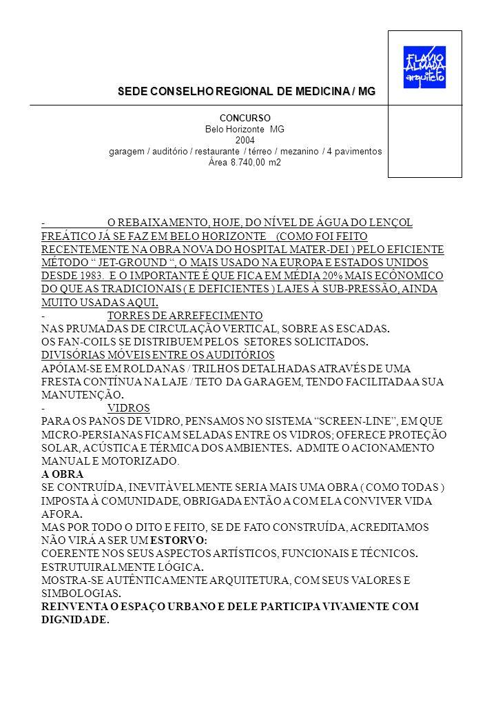 SEDE CONSELHO REGIONAL DE MEDICINA / MG