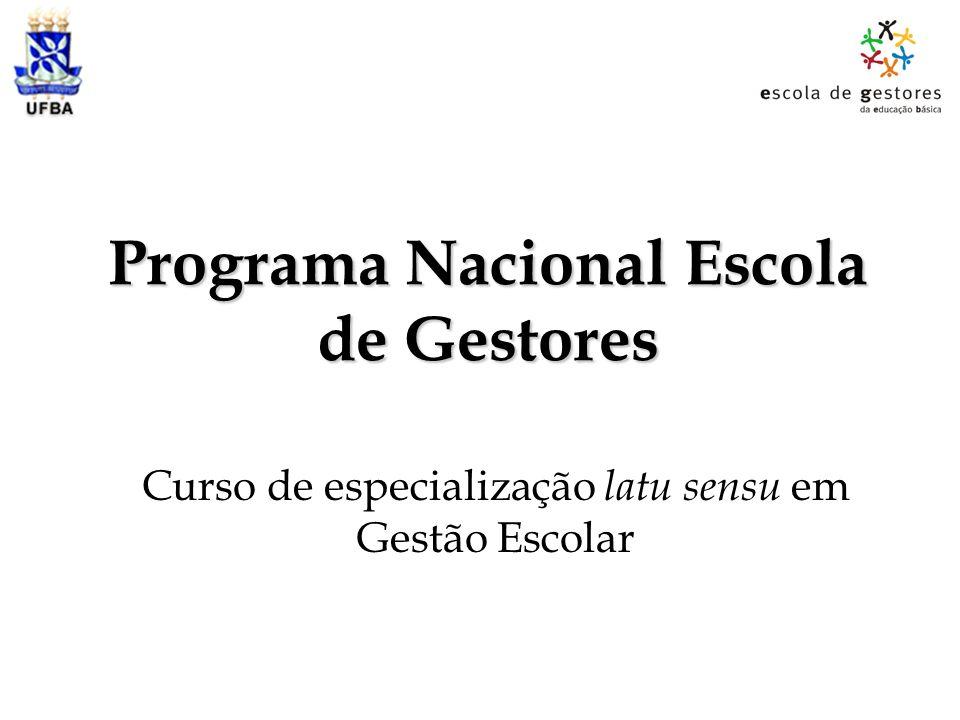 Programa Nacional Escola de Gestores