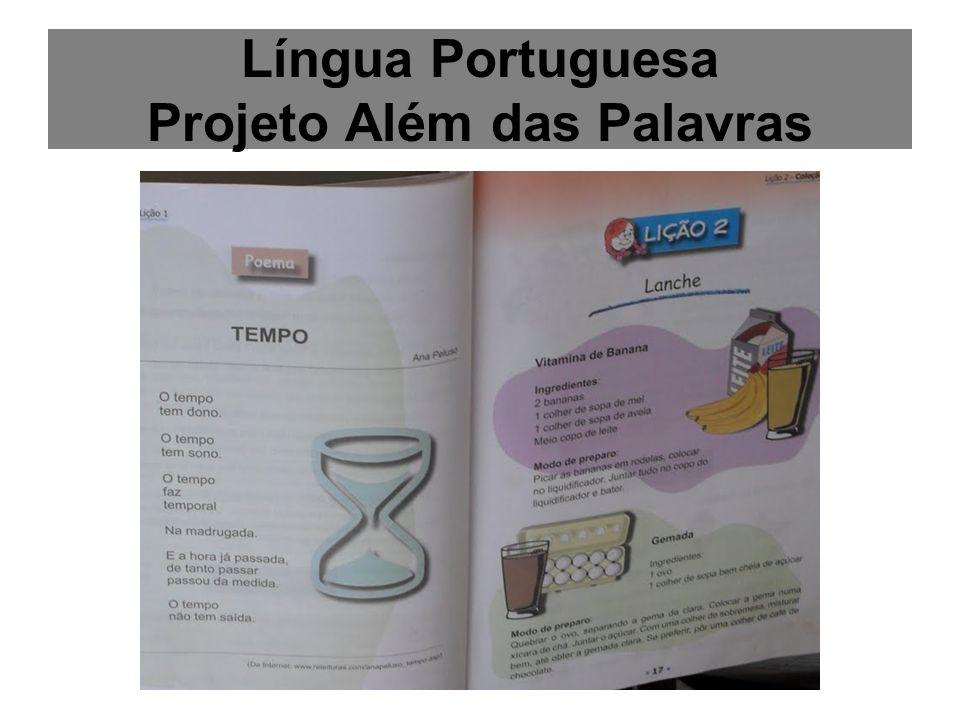 Língua Portuguesa Projeto Além das Palavras