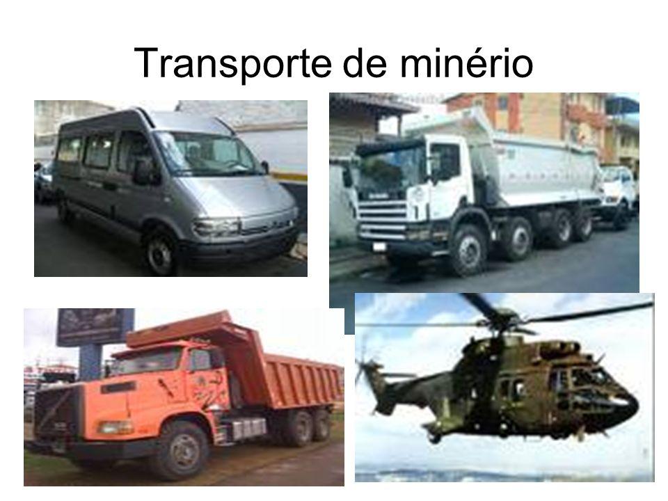 Transporte de minério