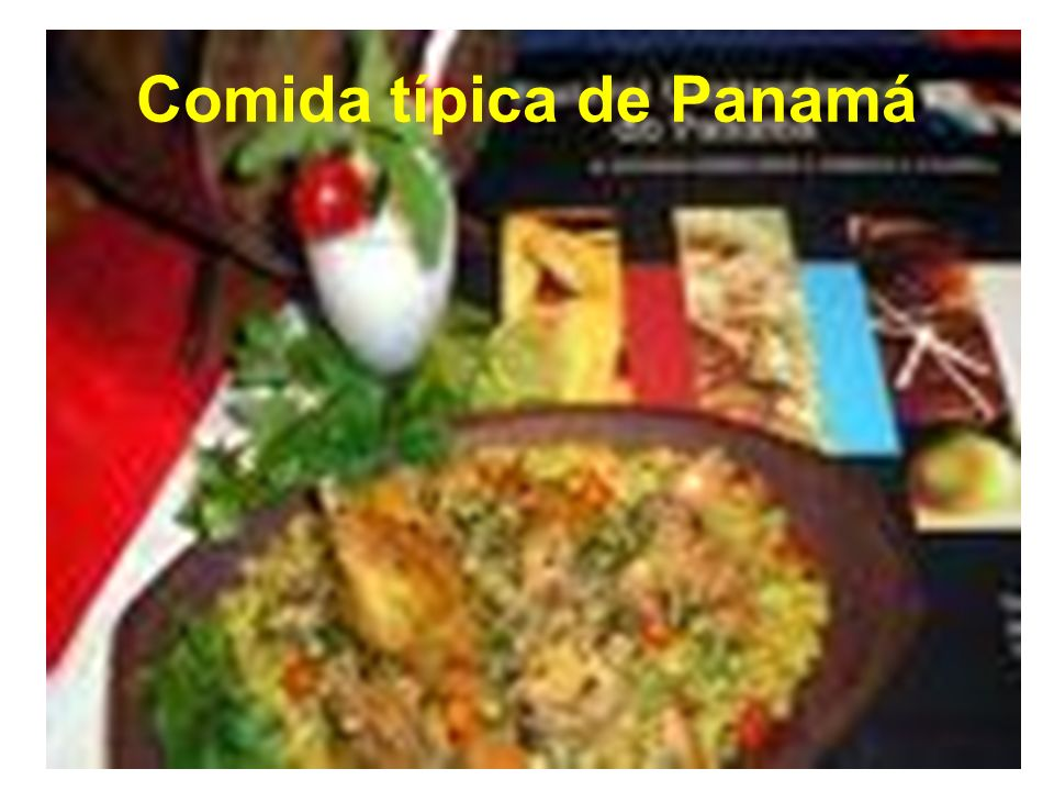 Comida típica de Panamá
