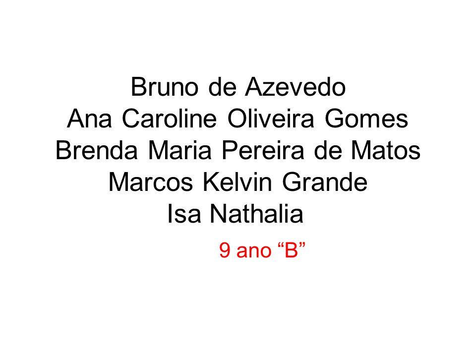 Bruno de Azevedo Ana Caroline Oliveira Gomes Brenda Maria Pereira de Matos Marcos Kelvin Grande Isa Nathalia