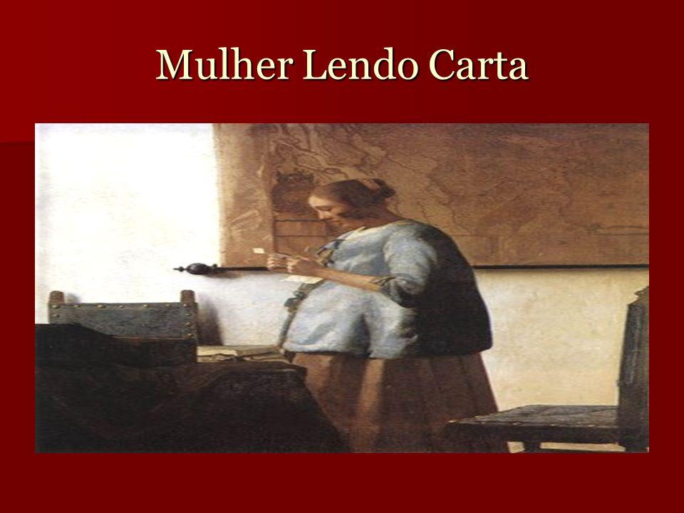 Mulher Lendo Carta