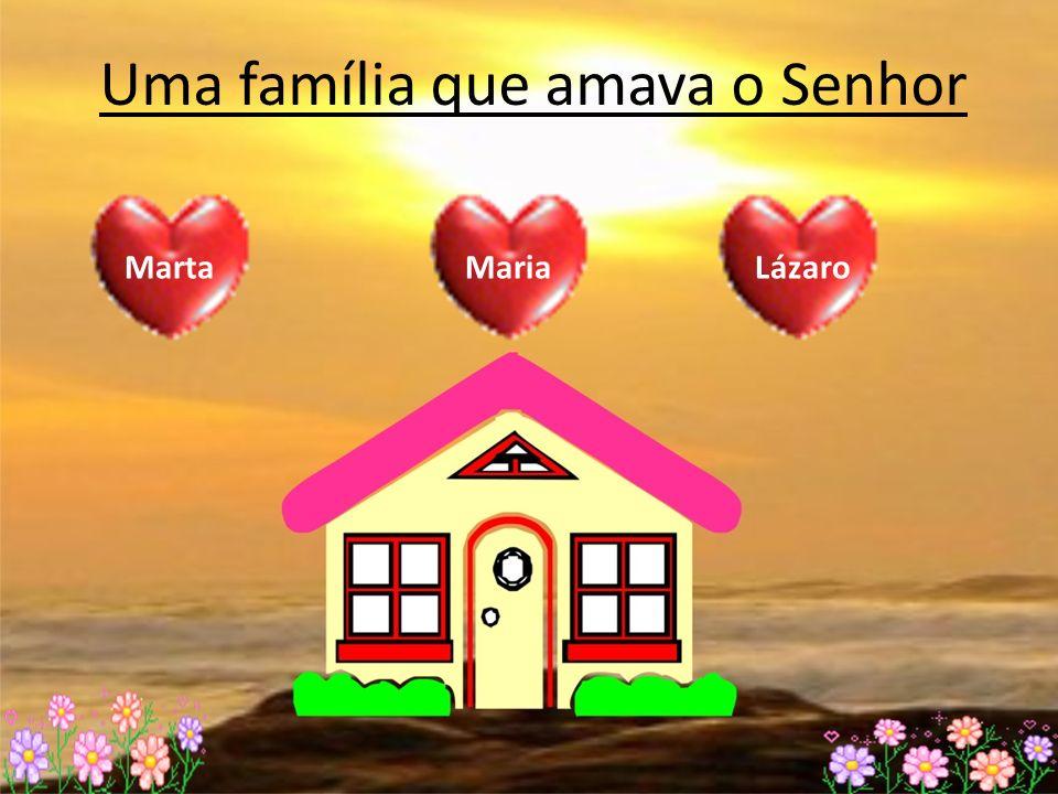 Uma família que amava o Senhor