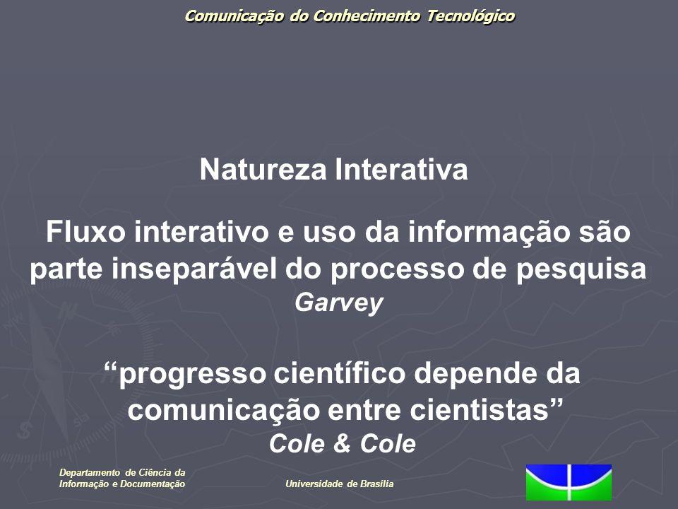 Fluxo interativo e uso da informação são