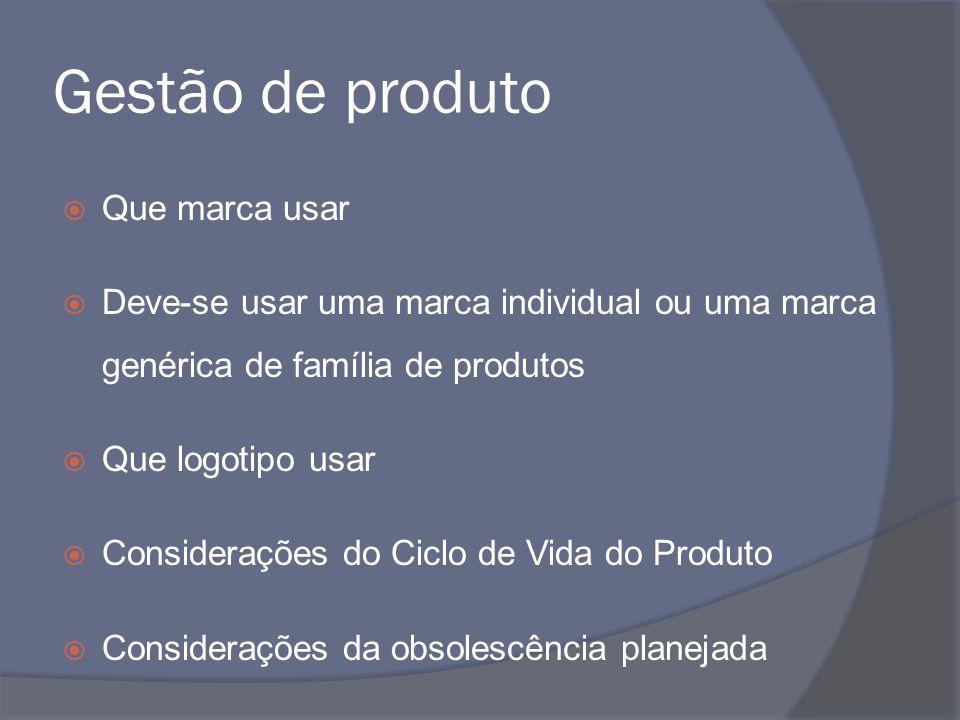 Gestão de produto Que marca usar