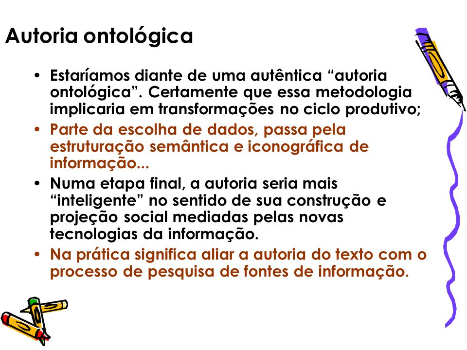 Autoria ontológica