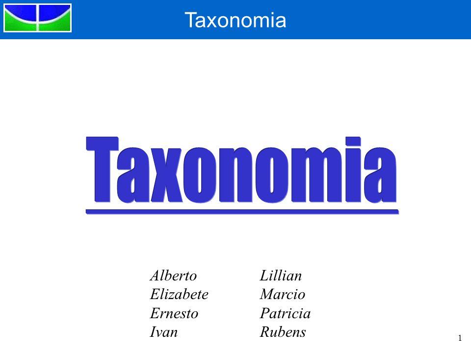 Taxonomia Alberto Elizabete Ernesto Ivan Lillian Marcio Patricia
